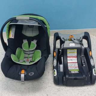 Chicco KeyFit 30 Infant Baby Car Seat with base