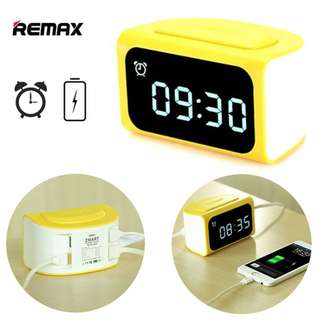 LAST TO GRAB! REMAX RMC-05 Smart Alarm Clock 4 USB Charger