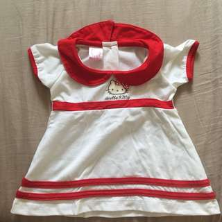 Hello Kitty Dress for Baby Girl