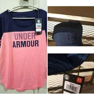Original Under Armour Shirt and Under Armour Cap