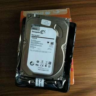 """[二手,100%運作正常] Seagate 1TB 3.5"""" Harddisk"""