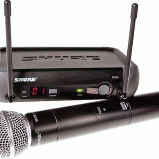 Shure PGX 4 wireless mic