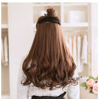 Hair Extension Curly Type