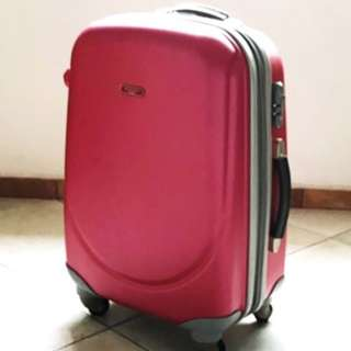 Hard Shell Spinner Luggage ABS Polycarbonate Ambassador Travel Luggage
