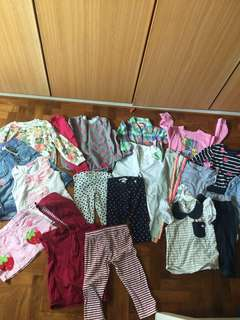 Bundle Girl Clothes