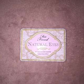 USED - Too Faced Natural Eyes Eyeshadow Palette