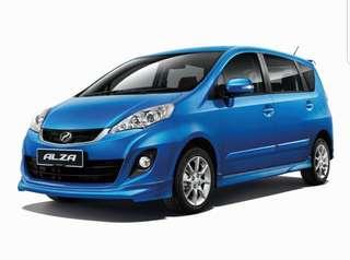 Perodua Alza 1.5 GST REBATE RM3100**
