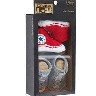 Converse All Star 0 to month baby babies socks booties