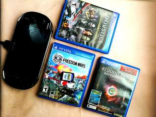PS Vita package (NEGOTIABLE)