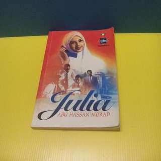 Novel Julia #Bajet20