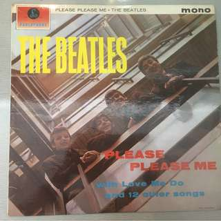 Beatles ‎– Please Please Me, Mono Vinyl LP, Rare 3rd Press, Yellow Parlophone ‎– PMC 1240, 1963, UK