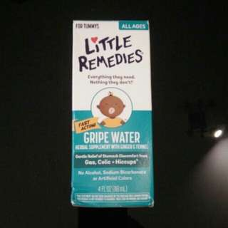 NEW/Unopened Little Remedies Gripe Water - help with Colic