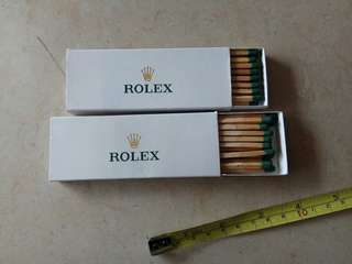 Rolex Matches