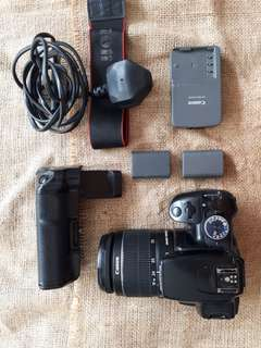 Canon 400D with 18-55 Lense