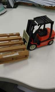 鏟車模型車