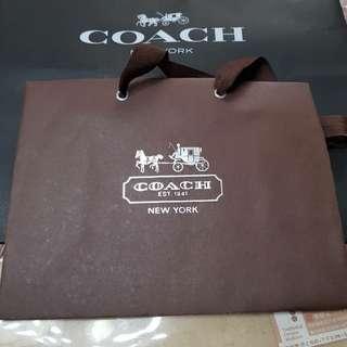 🚚 coach 袋子,大的40x33 小的27x21 cm