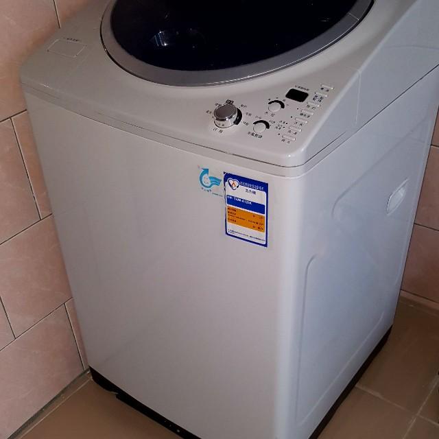粉新的大同12人FUZZY全自動智慧洗衣機