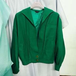古著 vintage 綠色外套