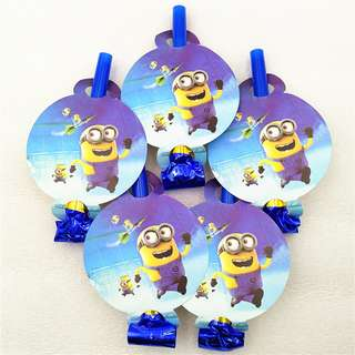 MINIONS Party Blowouts (Pack of 5)