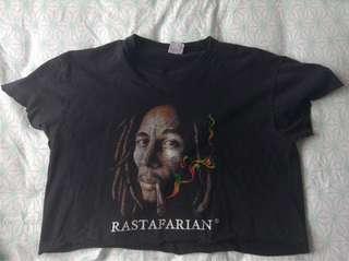 Cropped bob Marley
