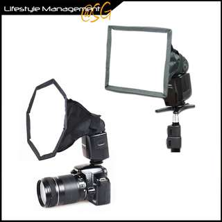 Universal Collapsible Fordable Softbox Camera Flash Diffuser Octagonal Studio Light Modifier