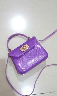 Tas anak Furla (inspired) purple