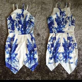 Chinois porcelain dress