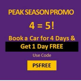 Sewa/Car Rental - Peak Season PROMO!!