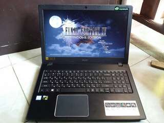 Acer gaming laptop with GTX 950m ssd+hdd 6gb ddr4