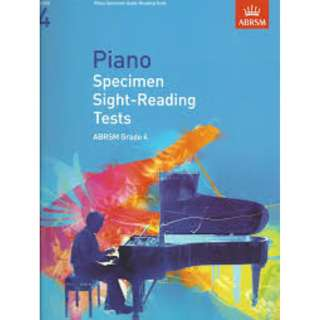 (Postage Included) ABRSM Piano Grade 4 Sight Reading
