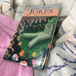 Jokes Book ( not suitable for kids )