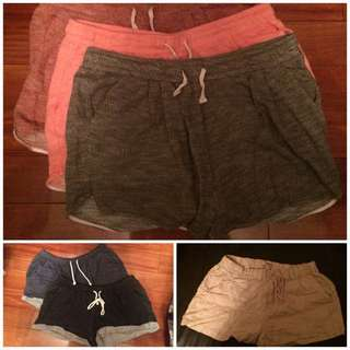 70 for 3 / ALL for 120: H&M/Forever21 Shorts