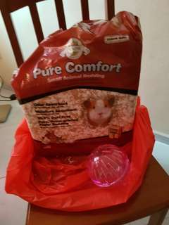 Hamster Bedding Oxbow 16.4l + Hamster Treats