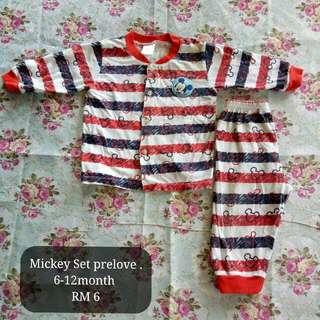 Mickey Sleep Tshir