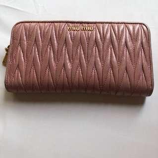 bab7f5fa24a8 miu miu matelasse wallet | Bags & Wallets | Carousell Singapore