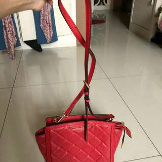 Nego preloved michael kors bag mini selma ori