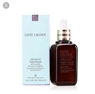 Estée Lauder advances night repair
