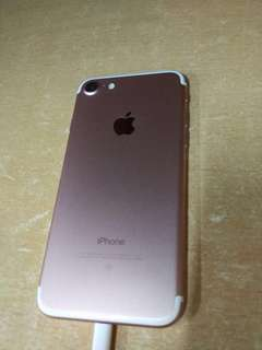 Iphone7 128gb玫瑰金