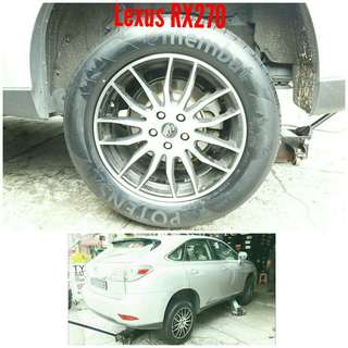 Tyre 235/60 R18 Membat on Lexus RX270 🐕 Super Offer 🙋‍♂️