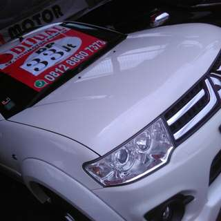Pajero exceed 2014 kecee