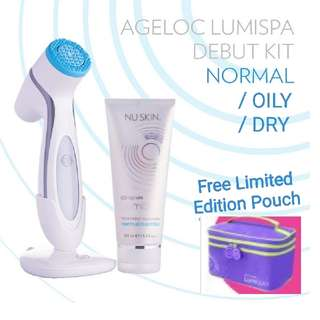 Face Cleansing Device LumiSpa