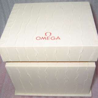 empty Omega watch box