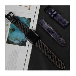 Apple Watch Carbon Fiber Wristband 碳纖維錶帶