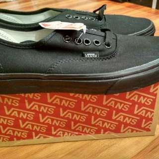 Vans authentic full black all black original