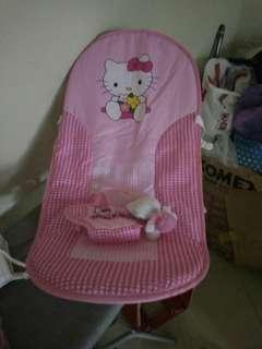 Infant seat hello kitty