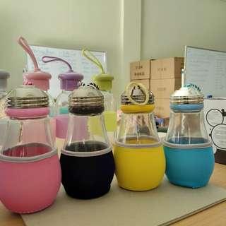 Simple Bulb Cup Souvenir Murah Botol Kaca Bohlam Polos