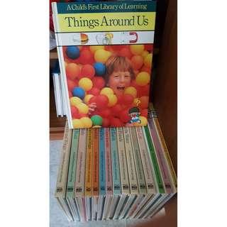 3 sets of children's encyclopedia