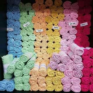 Kerudung Segiempat Soft Cotton