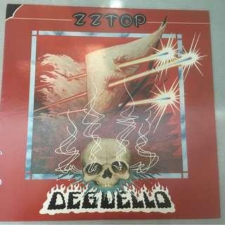 ZZ Top – Degüello, Japan Press Vinyl LP, Warner Bros. Records – P-10735W, 1979, no OBI