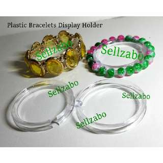 Display Holder For Watches/Bracelets Plastic Sellzabo Clear Colour Anklets Stand Accessories Watch